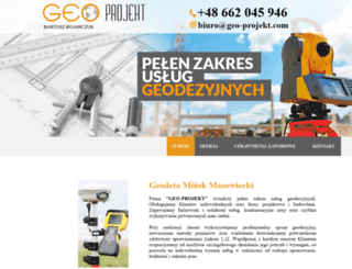 bbgeo.pl screenshot