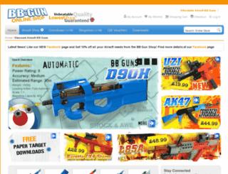 bbgshop.co.uk screenshot
