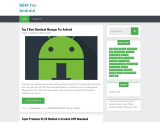 bbmforandroid.net screenshot