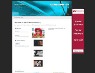 bbmfriend.yooco.org screenshot