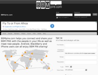 bbmpire.com screenshot