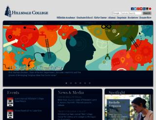 bbnc.hillsdale.edu screenshot
