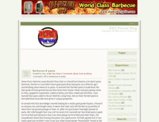 bbqblog.com screenshot