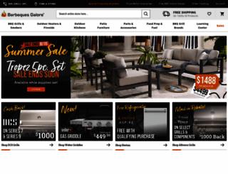 bbqgalore.com screenshot