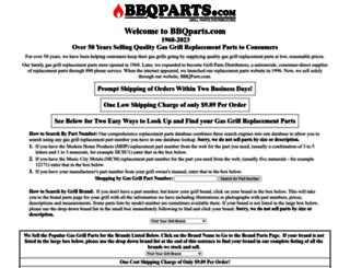 bbqparts.com screenshot