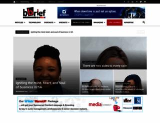 bbrief.co.za screenshot