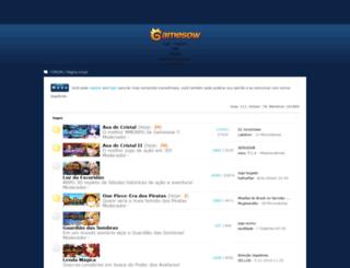 bbs.gamesow.com screenshot