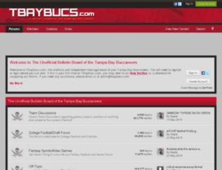 bbs.tbaybucs.com screenshot