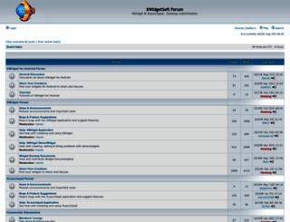 bbs.xwidget.com screenshot