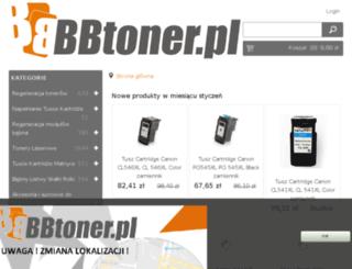 bbtoner.pl screenshot