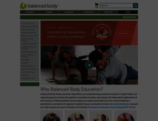 bbu.pilates.com screenshot