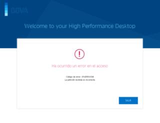 bbva-intranet.appspot.com screenshot