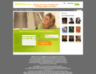 bbwdate.se screenshot