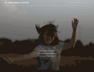 bc-webs.com screenshot