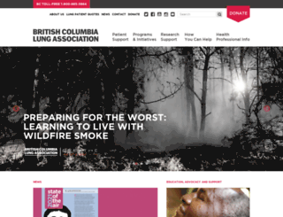 bc.lung.ca screenshot