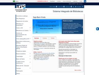 bc.ufes.br screenshot