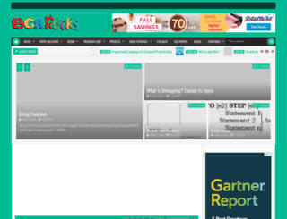 bcarocks.com screenshot