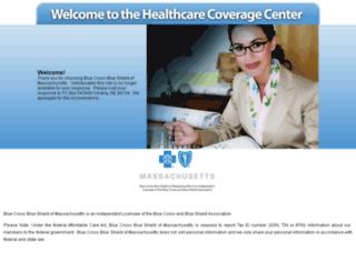 bcbsmataxid.coverageupdatecenter.com screenshot