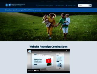 bcbsnc.com screenshot