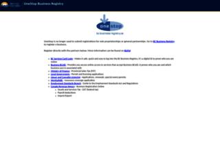 bcbusinessregistry.ca screenshot