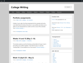 bccenglish11.edublogs.org screenshot