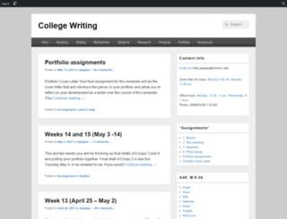 bccenglish11.edublogs.org screenshot