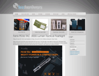 bcchardware.com screenshot