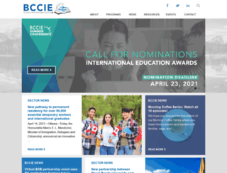 bccie.bc.ca screenshot