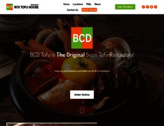 bcdtofu.com screenshot