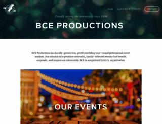 bceproductions.com screenshot
