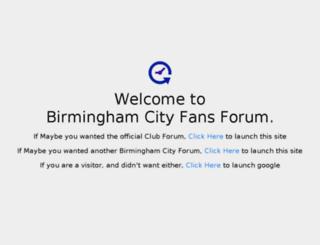 bcfcforum.com screenshot