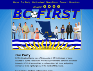 bcfirst.com screenshot