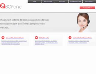 bcfone.com.br screenshot