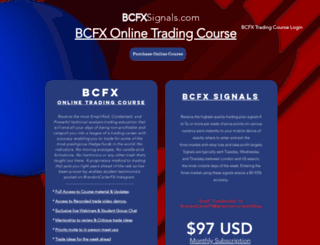 bcfxsignals.com screenshot