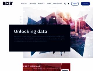 bcis.co.uk screenshot