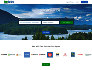 bcjobs.ca screenshot
