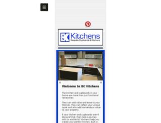 bckitchens.co.za screenshot