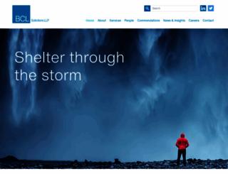 bcl.com screenshot
