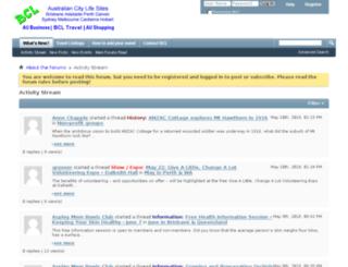 bclblogs.com.au screenshot