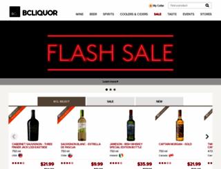 bcliquorstores.com screenshot