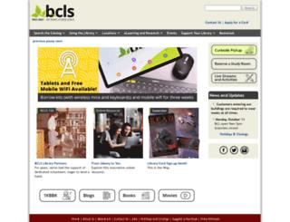 bcls.lib.nj.us screenshot