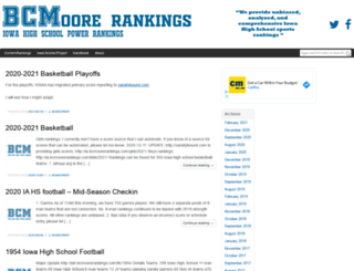 bcmoorerankings.com screenshot
