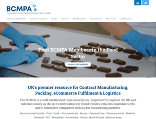 bcmpa.org.uk screenshot