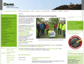bcmskgbergstr.bund.net screenshot