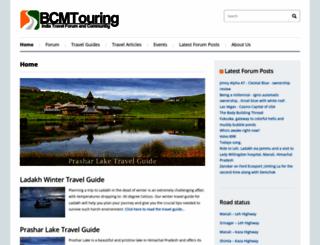 bcmtouring.com screenshot