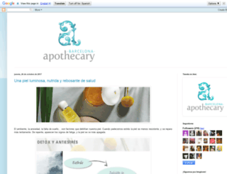 bcnapothecary.blogspot.mx screenshot