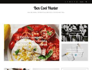 bcncoolhunter.com screenshot