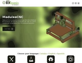 bcndynamics.com screenshot