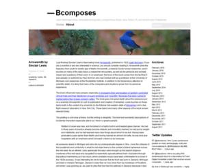 bcomposes.wordpress.com screenshot