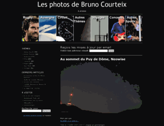 bcourteixphotos.com screenshot